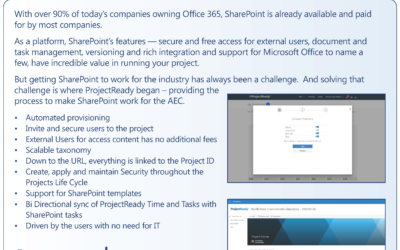 ProjectReady and SharePoint