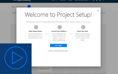Build Your Project & Automate Governance with ProjectReady