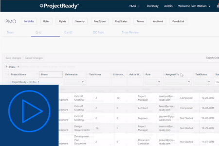 ProjectReady and the Project Manager