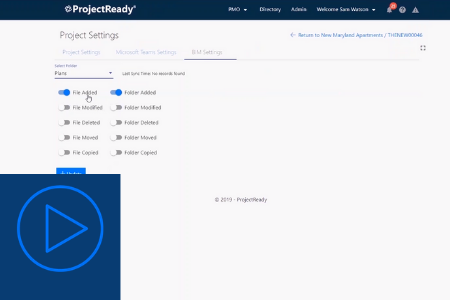 Sync Autodesk BIM 360 and SharePoint with ProjectReady